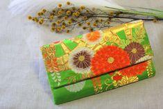 Japanese Kimono Obi Clutch Bag Japanese Kimono, Bag Making, Clutch Bag, Upcycle, Gift Wrapping, Gifts, Bags, Gift Wrapping Paper, Handbags