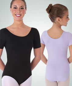 2dcdaf803d0 Body Wrappers Adult BWProWEAR Short Sleeve Ballet Cut Leotard  17 nylon  Party Dresses