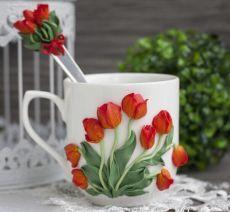 Polymer Clay Cupcake, Polymer Clay Kunst, Cute Polymer Clay, Polymer Clay Flowers, Fimo Clay, Ceramic Flowers, Polymer Clay Jewelry, Clay Art Projects, Polymer Clay Projects