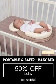 Tired of not getting a good night's' sleep? Is your baby keep waking up at night? Well, you need our revolutionary designed Deep Sleep Baby Bed. This baby bed imitates the infant's embryo period and mimics. Happy Baby, Bebe Video, Portable Baby Bed, Baby Registry List, Baby Life Hacks, My Bebe, Baby Gadgets, Baby Care Tips, Baby Necessities