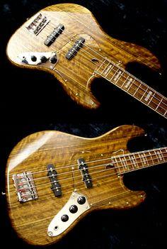 PR Guitars Custom Shop JBR-V Bass