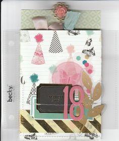 Birthday pocket mini album by penny at @studio_calico