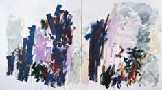 Joan Mitchell, Trees, 1990–91. Oil on canvas (diptych), (199.40 x 360.68 cm). Walker Art Center, Gift of Philip and Joanne Von Blon, 1995. - See more at: http://joanmitchellfoundation.org/work/artwork/cat/paintings/late-career-1980-1992/trees1#sthash.a9uxNyiA.dpuf