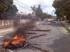 Protestas Por Tiempo Indefinido En Barrios De Bonao