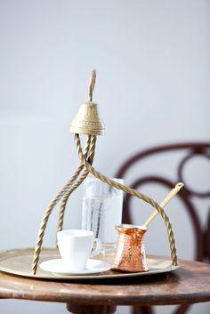 Antique Greek Coffee Tray