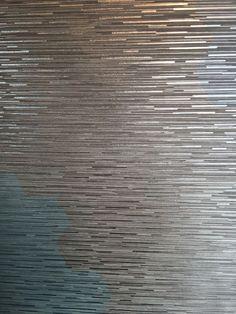 New Bathroom Wallpaper Textured Bedrooms 18 Ideas Bedroom Wallpaper Metallic, Bathroom Wallpaper Textured, Accent Wallpaper, Office Wallpaper, Modern Wallpaper, Home Wallpaper, Silver Textured Wallpaper, Accent Walls In Living Room, Accent Wall Bedroom