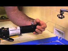 How to Replace Sink Caulking