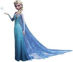 Elsa Frozen Character transparent image