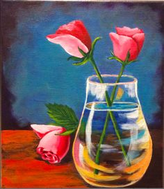 THREE ROSES by Jennifer Chase