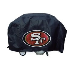 San Francisco 49ers NFL Deluxe Grill Cover