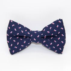 Bowtie navy blue and red / wedding accessories/ French handmade   https://www.etsy.com/fr/listing/264929401/noeud-papillon-bertrand