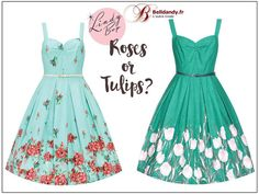 Roses ou Tulipes ?  Robe Pin-Up Rétro 50s Rockabilly Swing Bernice  http://www.belldandy.fr/catalogsearch/result/?q=bernice https://www.facebook.com/belldandy.fr/photos/a.338099729399.185032.327001919399/10154153809549400/?type=3
