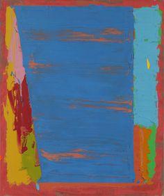 ilovetocollectart:  John Hoyland (British, 1934-2011), Untitled 10.8.76, acrylic on canvas
