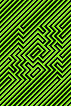 Squared optical illusion