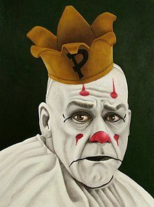 Choose your favorite clowns paintings from millions of available designs. All clowns paintings ship within 48 hours and include a money-back guarantee. Gruseliger Clown, Clown Faces, Creepy Circus, Creepy Clown, Scary Movie Characters, Scary Movies, Clown Paintings, Paintings For Sale, Famous Clowns