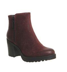 Μπότες αστράγαλο για τις γυναίκες | Μαύρο, καφέ και γκρι Μποτάκια - ΓΡΑΦΕΙΟ