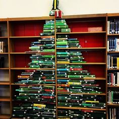 What better place to put your bookish gifts than under a bookish tree?