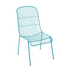 Devon Modern White Aluminum Armless Chair | Overstock.com Shopping - The Best Deals on Dining Chairs