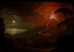 The Eruption of Vesuvius by Sebastian Pether