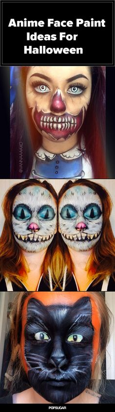 13 terrifyingly cool face-paint looks to steal the show on #Halloween