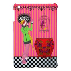 Wait a Minute  iPad Mini Plastic Case iPad Mini Cases - vintage wedding gifts ideas personalize diy unique style