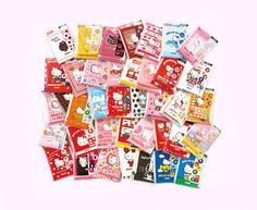 Mini letter set of Hello Kitty 40 successive pattern! | Goods | Hello Kitty 40th Anniversary Special Site