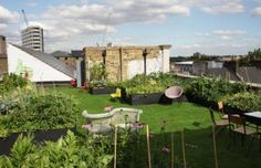 Dalston Roof Park. I Know This Great Little Place's... LONDON'S BEST BEER GARDENS...