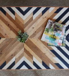 Tribal Pieced Coffee Table