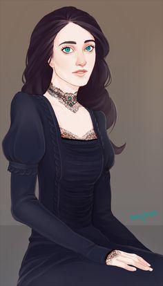 Joselyn Dunn by myks0.deviantart.com on @deviantART  -  its like if Jennifer Connelly was in Dune!! :-o  YESSSSSSS!