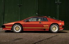 For Your Eyes Only Lotus Esprit Turbo - I love Lotus cars and I have a James Bond fantasy, of course I'f have  this car in my fantasy garage. This is the gadgetless bronze metallic Turbo fitted with a stylish ski-rack on the tailgate. Much cooler than the all-white submarine model IMO.