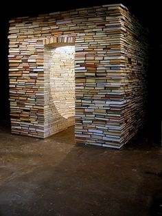 Aaron T. Stephan, Building With Books