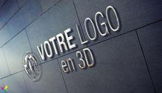 Lettres en Reliefs Relief, Logos, Letters, Wall Art, Logo
