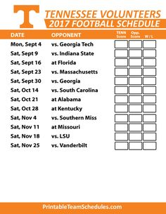 Ut football 2019 schedule