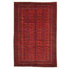 Herat Oriental Pakistan Hand-knotted Bokhara Wool Rug (6' x 9') | Overstock.com Shopping - The Best Deals on 5x8 - 6x9 Rugs