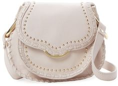 Cynthia Rowley Phoebe Small Leather Crossbody On ShopStyle