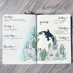 ocean bullet journal layout ideas if you are looking for gorgeous ocean bullet journal layout inspiration you are coming to the right place! We have collected over 50 gorgeous ocean bullet journal spreads, including a Bullet Journal Cover Ideas, Bullet Journal Notebook, Bullet Journal Spread, Bullet Journal Ideas Pages, Bullet Journal Layout, Bullet Journal Inspiration, Journal Covers, Junk Journal, Kalender August
