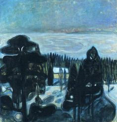 Winter is coming, Edvard Munch