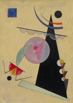 Wassily Kandinsky (Russian: 1866-1944), Bright Unity (Helle Einheit), 1925