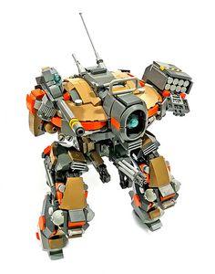 Lego Model : Image : Description Stug mkIII, a mech for the mean streets Lego Mecha, Robot Lego, Lego Bots, Lego War, Lego Bionicle, Lego Machines, Lego Pictures, Lego System, Lego Military