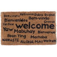 Coco Mats N More Multi Lingual Welcome Doormat | AllModern