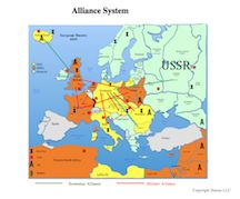 This is the war map for the world war one simulation armies are this map shows the alliance system in 1939 for europe in the world war two simulation economic as well as military alliances are displayed gumiabroncs Gallery