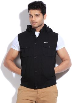 Integriti Sleeveless Solid Men's #Jacket #Winter #Fashion