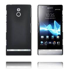 Hard Shell (Musta) Sony Xperia P Suojakuori