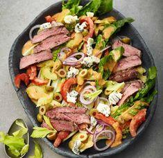 Steaksalat mit Roquefort Rezept - [ESSEN UND TRINKEN]