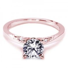 rose gold engagement rings tacori. I absolutely adore this, this is amazingly beautiful and simple