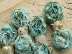 ❥ hand dyed ribbon