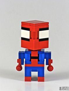 CubeDude Spiderman by Angus MacLane
