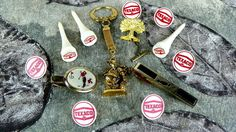 Vintage Golfers Jewelry Tie Pin Keychain and by ChaseyblueVintage