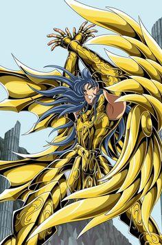 Saga de Géminis, armadura divina