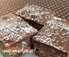 Recipe Honey Nougat Delight by leonie - Recipe of category Desserts & sweets